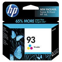 HP 93 Ink Cartridge - HP Genuine OEM (Tricolor)