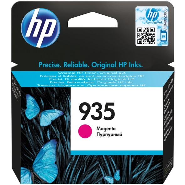 HP 935 Magenta Ink Cartridge - HP Genuine OEM (Magenta)