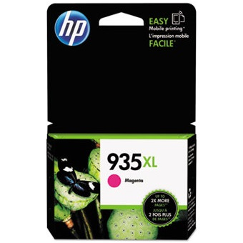 HP 935XL Magenta Ink Cartridge - HP Genuine OEM (Magenta)