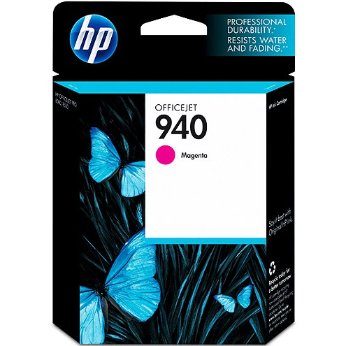 HP 940 Magenta Ink Cartridge - HP Genuine OEM (Magenta)