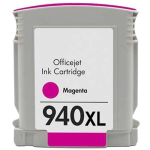 HP 940XL Magenta Ink Cartridge - HP Remanufactured (Magenta)