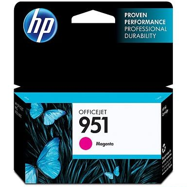 HP 951 Magenta Ink Cartridge - HP Genuine OEM (Magenta)