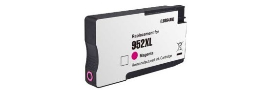 HP 952XL Magenta Ink Cartridge - HP Remanufactured (Magenta)