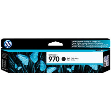 HP 970 Black Ink Cartridge - HP Genuine OEM (Black)