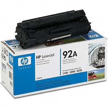C4092A Toner Cartridge - HP Genuine OEM (Black)