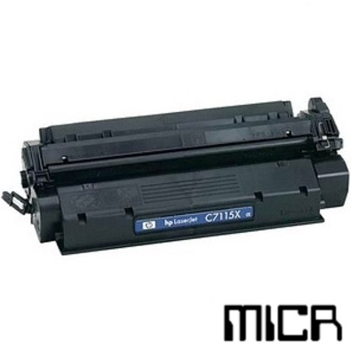 C7115X-micr MICR Toner Cartridge - HP Remanufactured (Black)