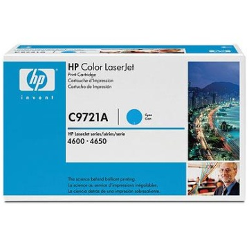 C9721A Toner Cartridge - HP Genuine OEM (Cyan)