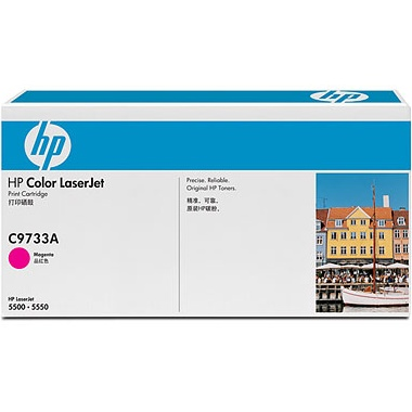 C9733A Toner Cartridge - HP Genuine OEM (Magenta)