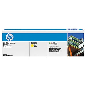 CB382A Toner Cartridge - HP Genuine OEM (Yellow)