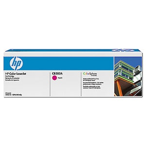 CB383A Toner Cartridge - HP Genuine OEM (Magenta)