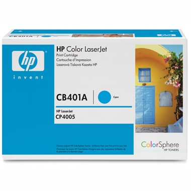 CB401A Toner Cartridge - HP Genuine OEM (Cyan)