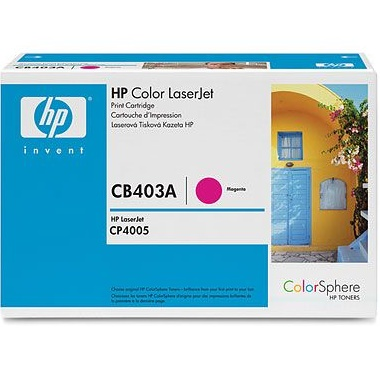 CB403A Toner Cartridge - HP Genuine OEM (Magenta)