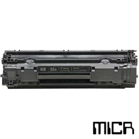 CB435A-micr MICR Toner Cartridge - HP Remanufactured (Black)