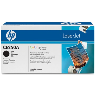CE250A Toner Cartridge - HP Genuine OEM (Black)