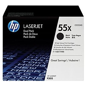 CE255XD Toner Cartridges - HP Genuine OEM (Black)