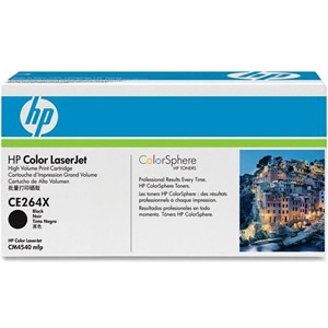 CE264X Toner Cartridge - HP Genuine OEM (Black)