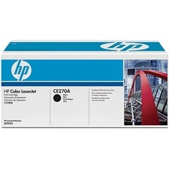 CE270A Toner Cartridge - HP Genuine OEM (Black)