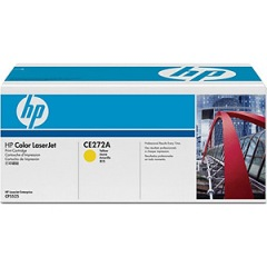 CE272A Toner Cartridge - HP Genuine OEM (Yellow)