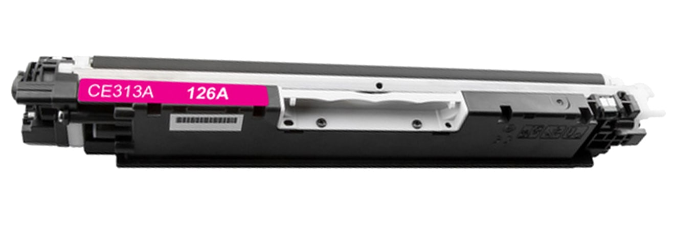 CE313A Toner Cartridge - HP Remanufactured (Magenta)