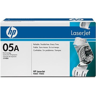 CE505A Toner Cartridge - HP Genuine OEM (Black)