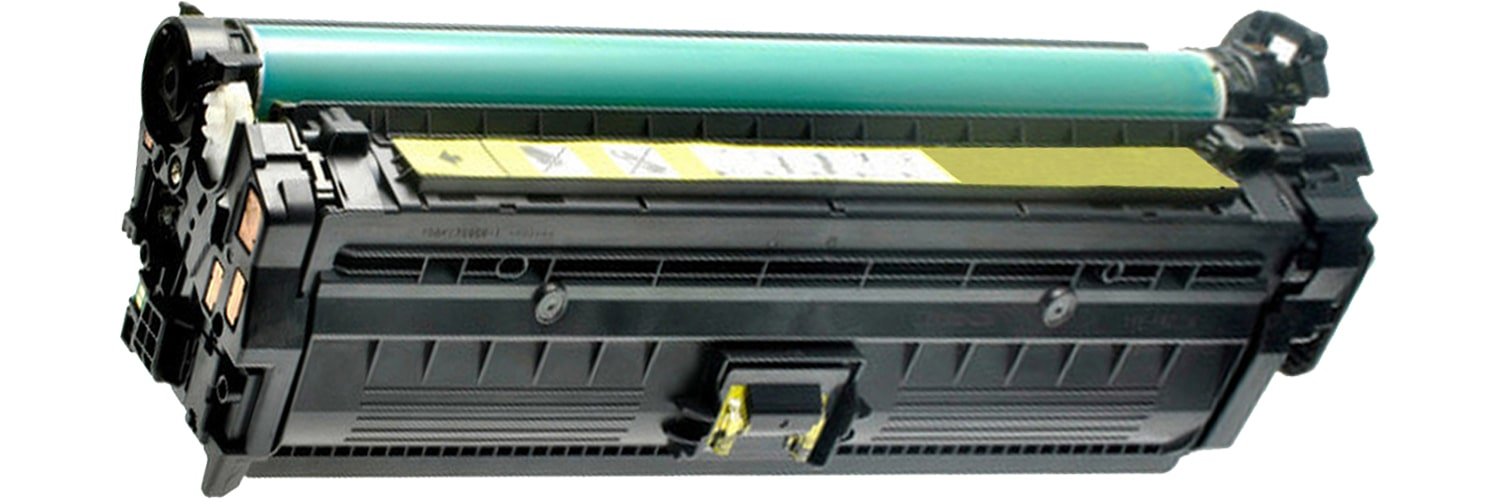 CE742A Toner Cartridge - HP Remanufactured (Yellow)
