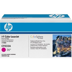 CF033A Toner Cartridge - HP Genuine OEM (Magenta)