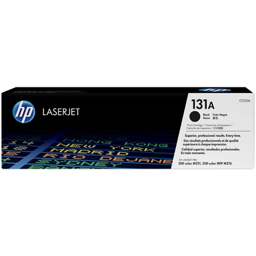 CF210A Toner Cartridge - HP Genuine OEM (Black)