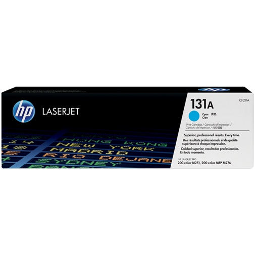 CF211A Toner Cartridge - HP Genuine OEM (Cyan)
