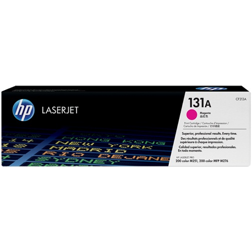 CF213A Toner Cartridge - HP Genuine OEM (Magenta)