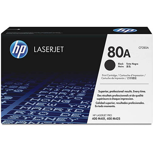 CF280A Toner Cartridge - HP Genuine OEM (Black)