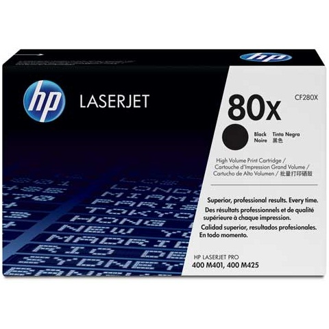 CF280X Toner Cartridge - HP Genuine OEM (Black)