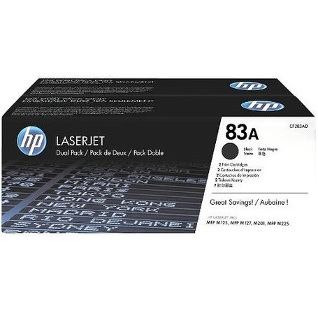 CF283AD Toner Cartridge - HP Genuine OEM (Multipack)