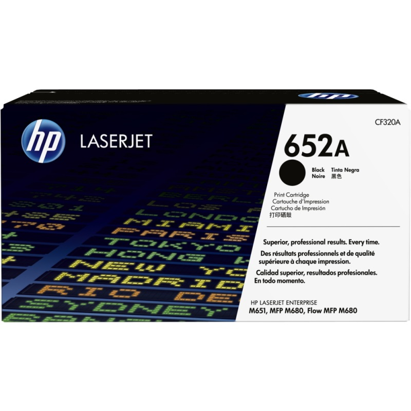 CF320A Toner Cartridge - HP Genuine OEM (Black)