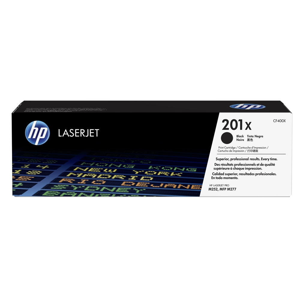 CF400X Toner Cartridge - HP Genuine OEM (Black)