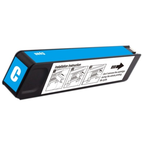 D8J07A Ink Cartridge - HP Compatible (Cyan)