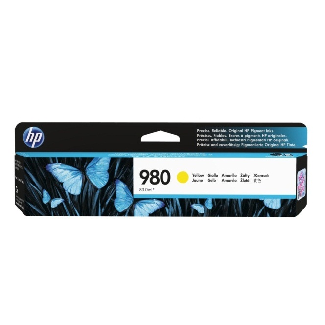 D8J09A Ink Cartridge - HP Genuine OEM (Yellow)