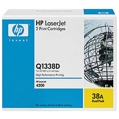 Q1338D Toner Cartridges - HP Genuine OEM (Black)