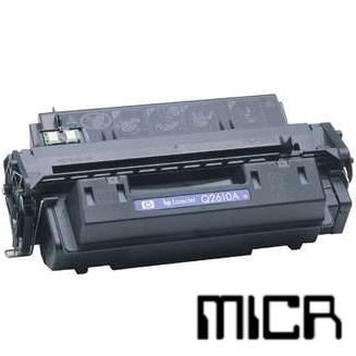 Q2610A-micr MICR Toner Cartridge - HP Remanufactured (Black)