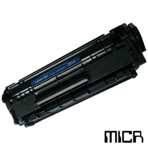 Q2612A-micr MICR Toner Cartridge - HP Remanufactured (Black)