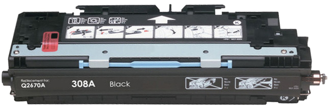 Q2670A Toner Cartridge - HP Remanufactured (Black)