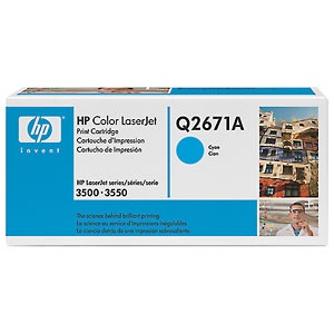 Q2671A Toner Cartridge - HP Genuine OEM (Cyan)