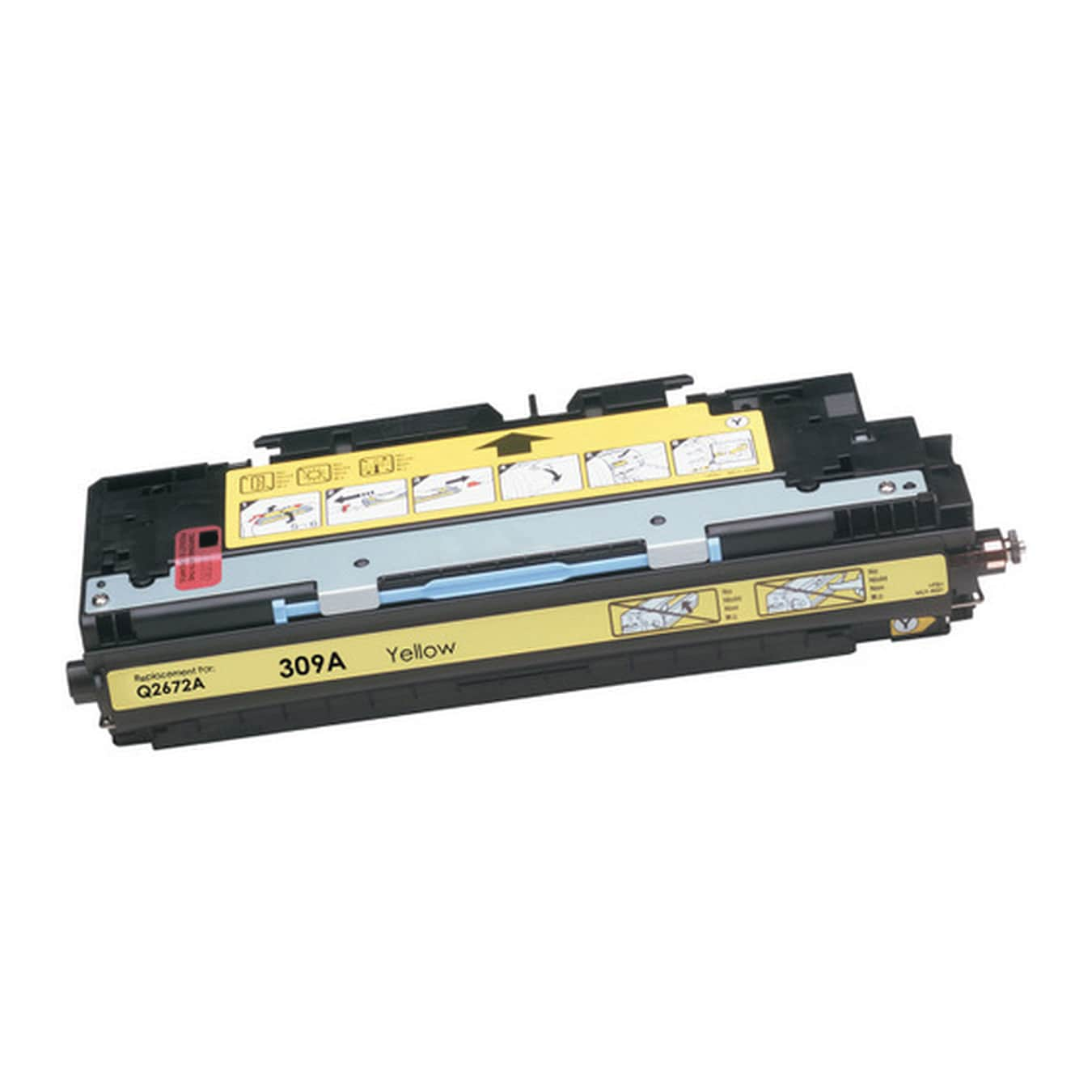 Q2672A Toner Cartridge - HP Remanufactured (Yellow)