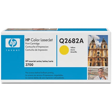 Q2682A Toner Cartridge - HP Genuine OEM (Yellow)