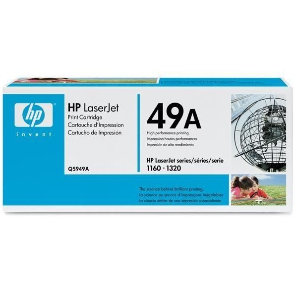 Q5949A Toner Cartridge - HP Genuine OEM (Black)
