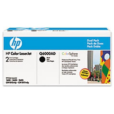 Q6000AD Toner Cartridge - HP Genuine OEM (Multipack)