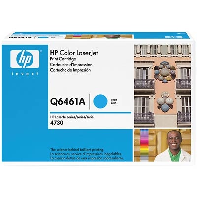 Q6461A Toner Cartridge - HP Genuine OEM (Cyan)
