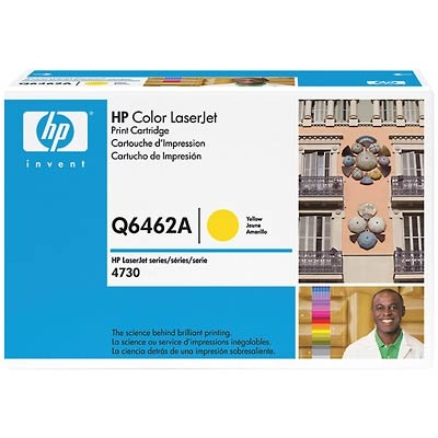 Q6462A Toner Cartridge - HP Genuine OEM (Yellow)