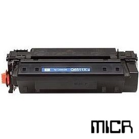 Q6511X-micr MICR Toner Cartridge - HP Remanufactured (Black)