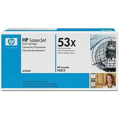 Q7553X Toner Cartridge - HP Genuine OEM (Black)