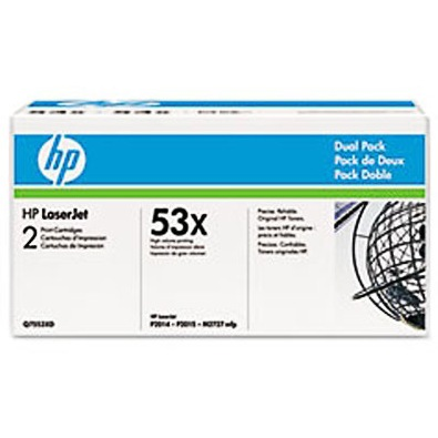 Q7553XD Toner Cartridges - HP Genuine OEM (Black)